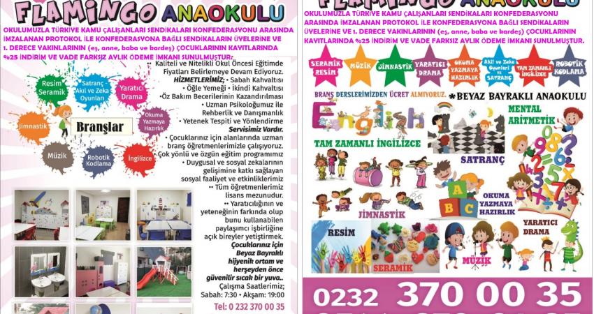 İzmir'de Üyelerimizin Çocukları için İndirimli Kreş ve Anaokulu Anlaşması
