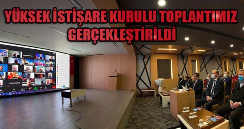 Türkiye Kamu-Sen Yüksek İstişare Toplantısı Yapıldı