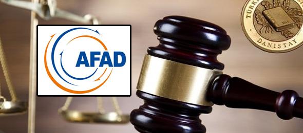 AFAD  Çalışanları İçin Danıştay'da Dava Açtık