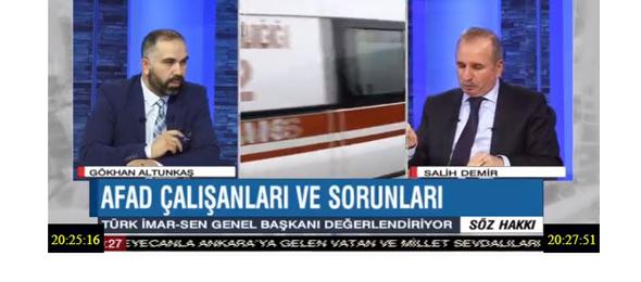 Genel Başkanımız BENGÜTÜRK TV'de Canlı Yayın Konuğuydu