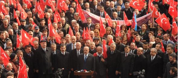 """""""AFRİN HAREKATINA DESTEK, ŞEHİDE SAYGI"""" Mitingini Gerçekleştirdik"""