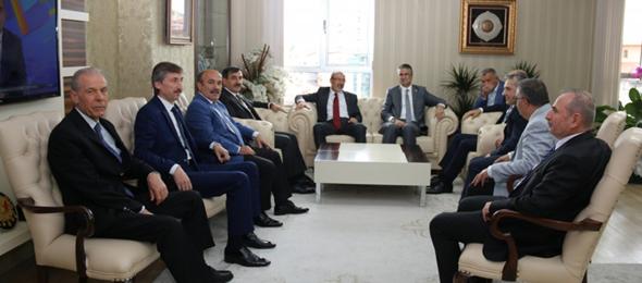 Milliyetçi Hareket Partisi Genel Başkan Yardımcıları Genel Merkezimizi Ziyaret Etti
