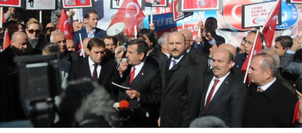 Türkiye Tek Yürek Andımızı Okudu
