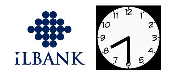 İL BANK AŞ'DE MESAİ SAATLERİNİN DEĞİŞTİRİLMESİ İÇİN BAŞVURDUK